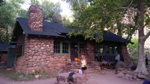 The common room at Phantom Ranch