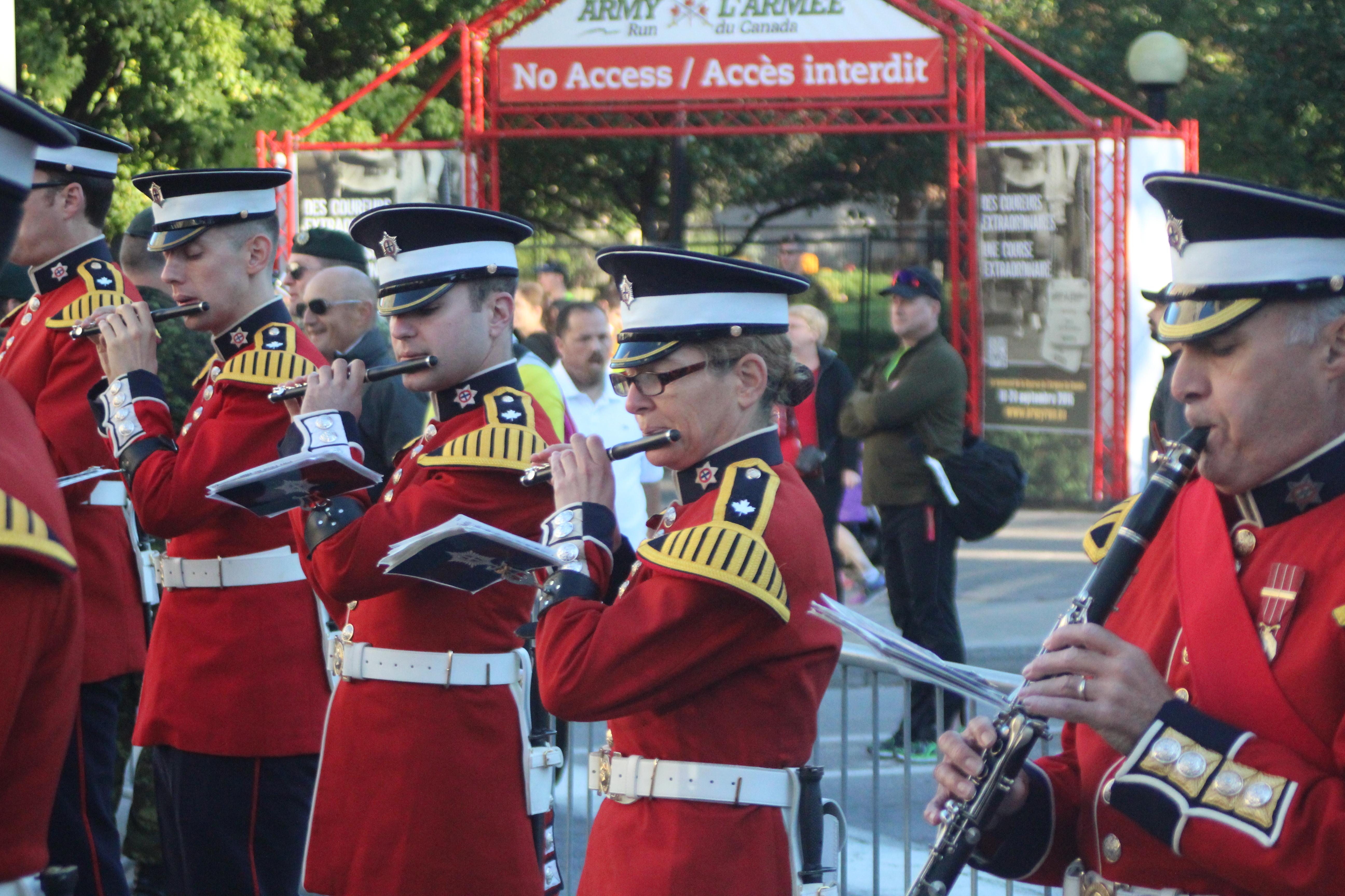 The governor general s foot guards - Then It S Back Along Sussex Drive To The Rideau Canal And The Finish Line Another Unique Feature Of The Event Is The Finisher Medals Which Are Dog Tags