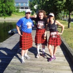 Perth Kilt Run and IM 70.3 Mont- Tremblant 2012 – I almost got hit by a Haggis on the way to Mont Tremblant