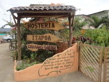Hosteria Itapoa: entrance
