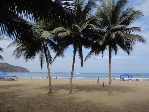 Puerto Lopez: beach