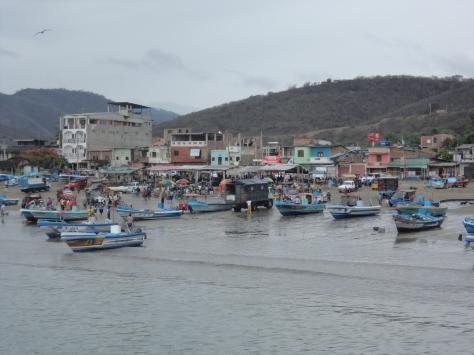 Puerto Lopez: fishing boats